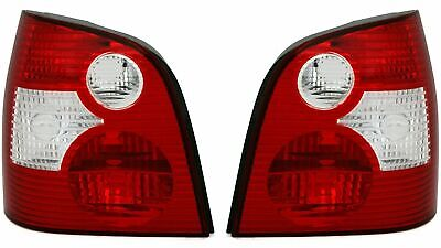 AU151.29 • Buy Vw Polo 9n Clear Tail Lights Rear Lamps 10/2001 - 5/2005