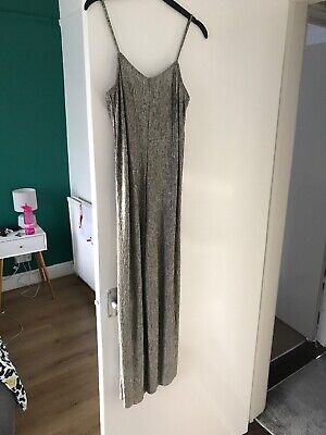 Jumpsuit Silver Pull And Bear Size S • 4.30£