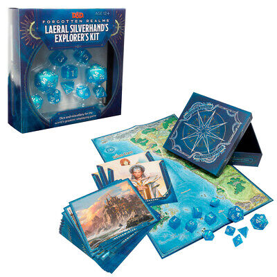 AU35.95 • Buy Dungeons & Dragons Forgotten Realms Laeral Silverhands Explorers Kit NEW