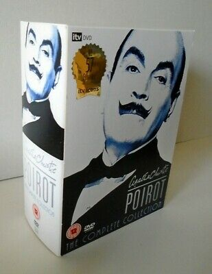 £86.86 • Buy Agatha Christie's Poirot The Complete Collection 24 Discs-57 Episodes Region 2