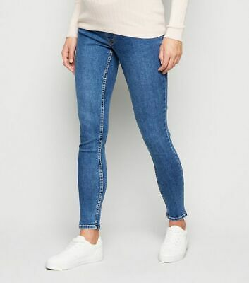 Skinny Slim Jeans Jeggings Maternity Over Bump Ex New Look Stretchy Pants 8-20 • 13.99£