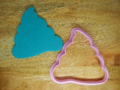 AU7.95 • Buy Poop 9cm Cookie Cutter Unicorn Birthday Party Crap You're Old Gift