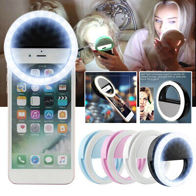 AU11.65 • Buy LED Ring Flash Fill Selfie Light Lamp Outdoor Lighting For Mobile Phone AU