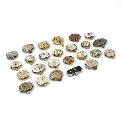 $ CDN14.08 • Buy Lot Of 25 Vintage Ladies Mechanical Swiss Watch Movements Omega Bucherer 7878-5