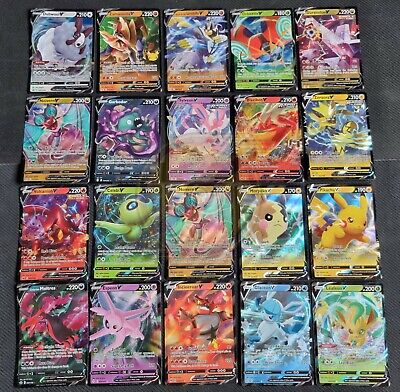 AU20.95 • Buy 50 Pokemon Cards Ultimate Pack 1 V/V Max ULTRA RARE 9 Rares/shiny FAST DISPATCH