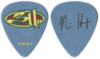 $ CDN14.01 • Buy 311 Nick Hexum Real 2008 Unity Tour Custom Stage Collectible Band Guitar Pick