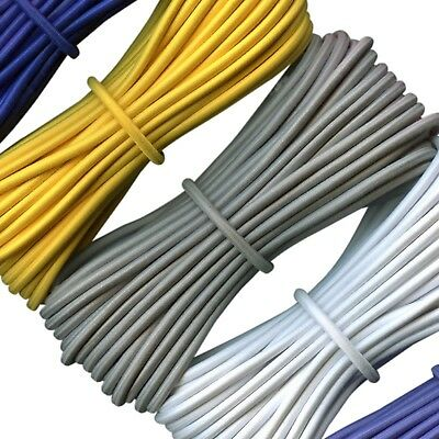 $ CDN11.50 • Buy Round Elastic Cord - Stretch Bungee Cord - 1.5, 2, 3, 4, 5 Mm Diameter