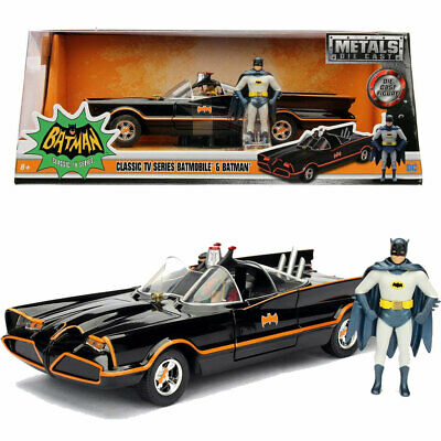 Jada Hollywood Rides 1966 Batman Classic Batmobile 1:24 Diecast Model Car • 24.95£