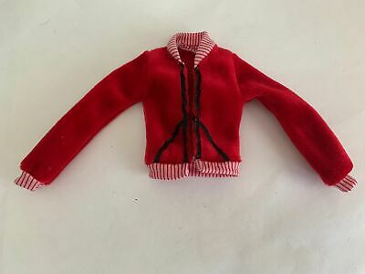 $6.99 • Buy My Scene Barbie Doll Clothes Red Jacket Coat