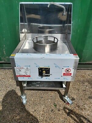 Chinese Wok Cooker Single Burner  Nat Gas Brand   New In London • 745£