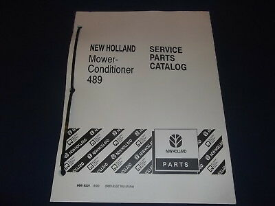 AU28.47 • Buy New Holland 489 Mower Conditioner Parts Book Manual