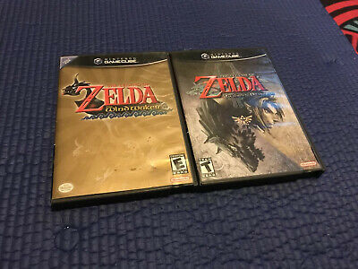 $99.95 • Buy Legend Of Zelda: The Wind Waker + Twilight Princess Cib Read!! Nintendo GameCube