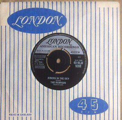 The Ramrods Riders In The Sky .1961 London+cover.uk #8 Hit.mint/unplayed Ex-shop • 5£
