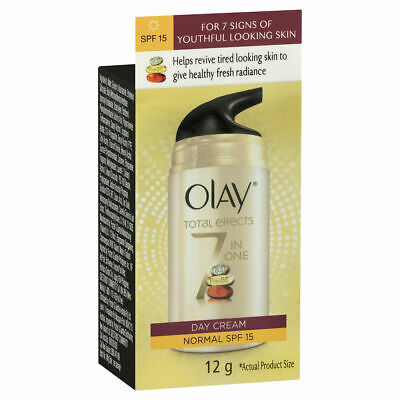 AU15.11 • Buy Olay Total Effects Face Cream Moisturiser Normal Spf 15 12g