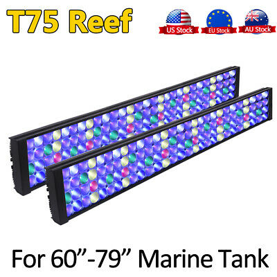 AU449.64 • Buy DSunY Marine Led Aquarium Light For 72  6FT 180cm Coral Reef Saltwater Fish Tank