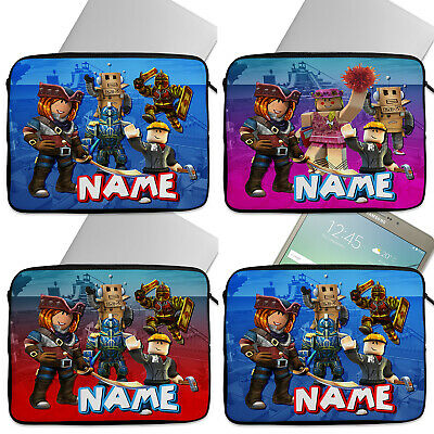 Personalised Boys ROBLOX Tablet Laptop Cover Sleeve Universal Case Gamer Gift • 14.95£
