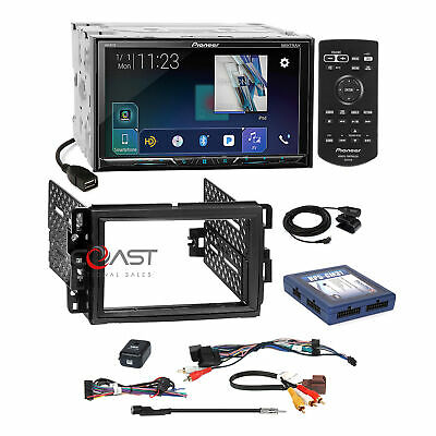 $415.95 • Buy Pioneer DVD USB GPS Ready Stereo Dash Kit OnStar Bose SWC Harness For GM Chevy