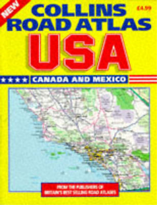 Collins Road Atlas: USA, Canada And Mexico: 1997, Geosystems Global Corp, Used;  • 4.99£