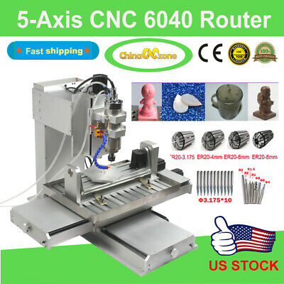 $ CDN4134.43 • Buy 5-Axis CNC 6040 Router Cutting Milling Engraving Machine Engravers For Aluminum