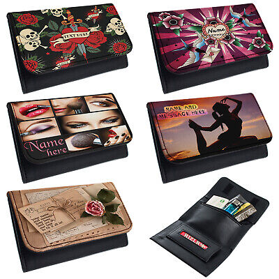Personalised Ladies Tobacco Pouch Rolling Baccy Wallet Smoking Gift Bingo Hers • 8.95£