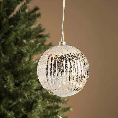 $7.18 • Buy Light Up Indoor Outdoor Big Ball Large Christmas Tree Bulb Ornament Yard Decor