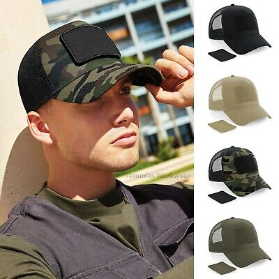 £9.79 • Buy Camo Cap Snapback Patch Trucker Military Baseball Cap Camouflage Urban Combat