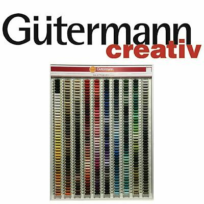 £2.24 • Buy Gutermann Sew All 100% Polyester Thread 100m-hand& Machine Sewing No's 0-519
