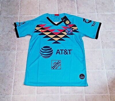 $35 • Buy Club America 3rd Jersey 2020 W/ Ligamx Patch Mens Size S - 2xl Turquoise