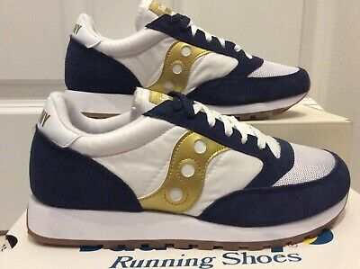 Saucony Jazz Original Vintage Running Pack Classics Size 8.5 Uk Shadow Grid Blue • 39.99£