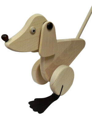 Push Along Toy Animal - Great Gift For Kids - Christmas Present Dog Play Indoor • 13.49£