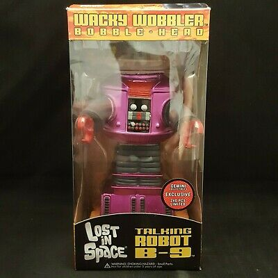 AU79.96 • Buy Funko Lost In Space B-9 Robot Purple Gemini Exclusive Wacky Wobbler Bobble Head