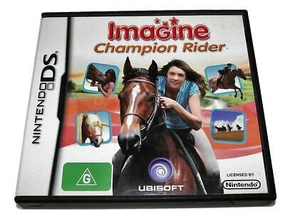 Imagine Champion Rider DS 2DS 3DS Game *No Manual* • 6.59£