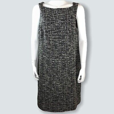 $ CDN167.80 • Buy MM Lafleur Womens Lydia Dress Gray Boucle Sleeveless Stretch Plus 2X New