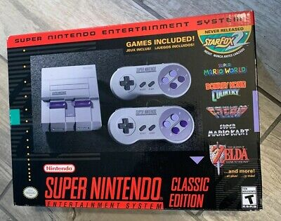 $ CDN224.23 • Buy SNES Super Nintendo Classic Mini Entertainment System- Free Shipping