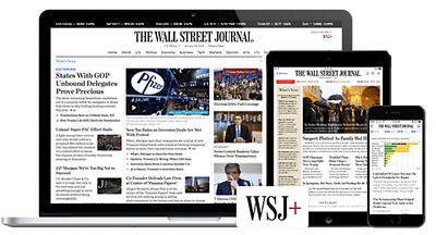 $37 • Buy Wall Street Journal WSJ 5-Year Digital Subscription For PC, Android And Iphone