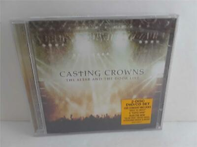 $10 • Buy $0 Ship CASTING CROWNS Sealed New Cd Dvd Set THE ALTAR AND THE DOOR LIVE
