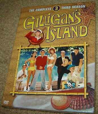 £18.18 • Buy Gilligans Island - The Complete Third Season (DVD, 2005, 3-Disc Set),NEW, SEALED