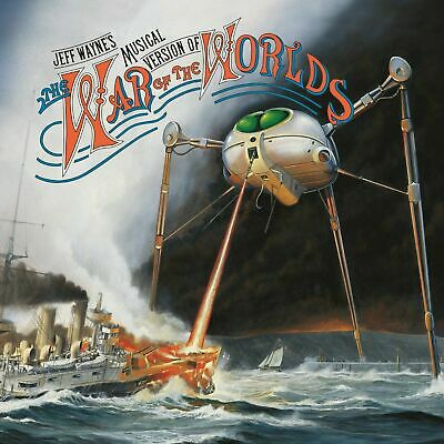 Jeff Wayne's -  The War Of The Worlds    [CD]   OFFICIAL H.G. Wells Gift Idea • 4.99£