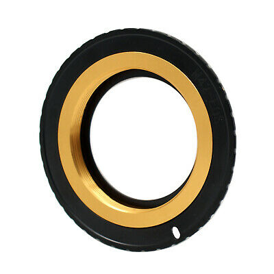 $8.01 • Buy M42-EOS Gold Adjustable Adapter For M42 Lens To Canon EF Mount Dslr Camera