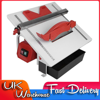600W Electric Wet Tile Cutter Porcelain Marble Diamond Cutting Machine Tool • 39.99£