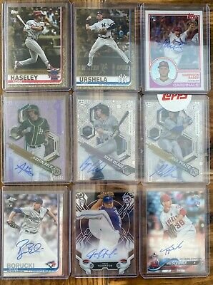 $ CDN45.13 • Buy LOT OF 26 Baseball AUTO Autographs Relics Bowman Chrome Topps SPs