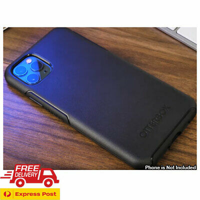 AU42.50 • Buy Genuine For IPhone 11 PRO MAX + XS XR 8 7 Otterbox Slim Symmetry Case Cover Blk