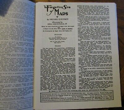 $9.99 • Buy FORGOTTEN SEA Of MARS - A 28 Page Fanzine John Carter Story -SEE Condition Below