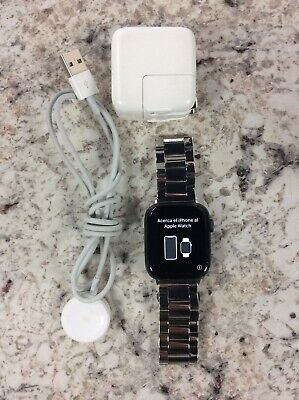 $ CDN387.80 • Buy Apple Watch Series 4 44mm A1976 (GPS + LTE) Space Gray W/ Stainless Band