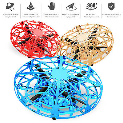 $14.95 • Buy Mini Drone Quad Induction Levitation Smart UFO Hand Control Helicopter Toys Gift