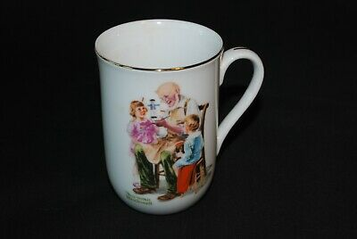 $ CDN11.04 • Buy Norman Rockwell Museum Porcelain Cup/Mug  The Toymaker  1982