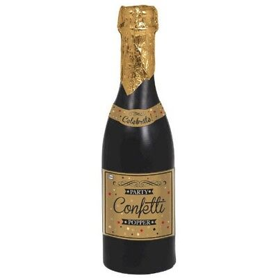 Confetti Champagne Bottle 12 3/4  Party Popper New Years Eve Party • 15.33£