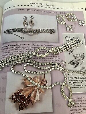 """$65 • Buy VERY RARE SARAH COVENTRY """"1959 Miss Ozone Pageant"""" Necklace Bracelet Earring Set"""