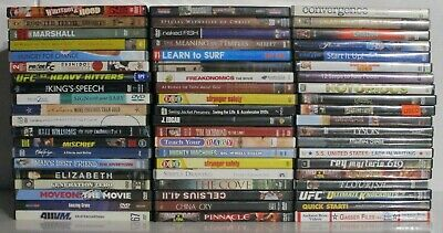 $ CDN25.38 • Buy Wholesale Lot Of 60 Assorted **Documentary & Educational** DVDs & DVDs Movies