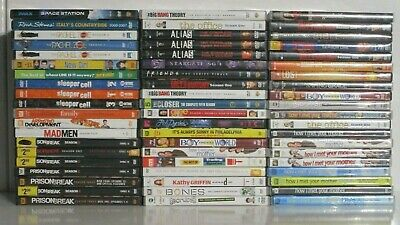 $ CDN43.72 • Buy Wholesale Lot Of 60 Assorted **Sitcoms & TV Shows** DVDs & DVDs Movies